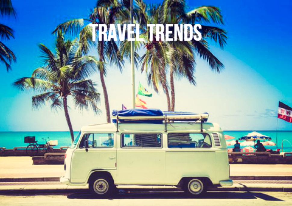 Trends for Travel & Hopsitality